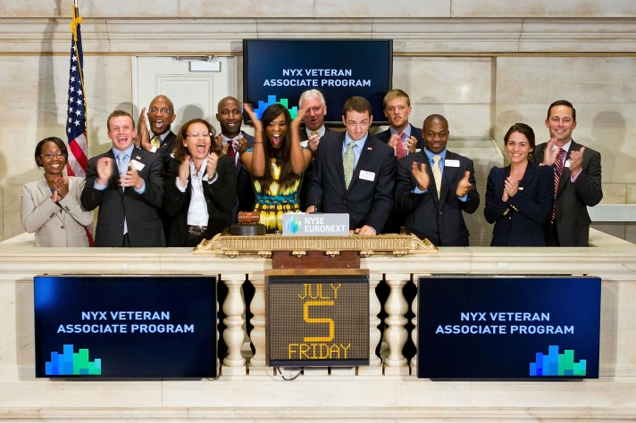 NYSE Euronext celebrates 2nd Annual Veteran Associates Program