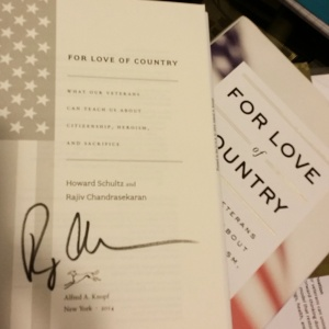 For Love of Country - SIgned