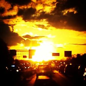 Sunset Ahead